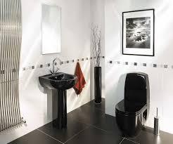 bathroom stunning modern black and white nice bathroom decoration