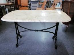 Marble Bistro Table Stunning Oval Bistro Table White Marble Top Oval Dining Table