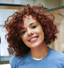 short curly haircut round face hairstyle picture magz