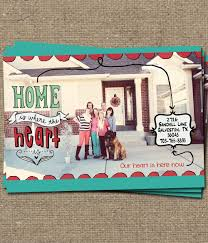House Warming Invitation Cards Printable Custom Moving Announcement Change Of Address Photo Card