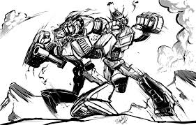 megatron coloring pages optimus prime vs megatron by ryuzo on deviantart