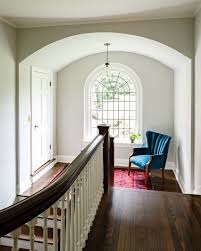 stair landing with sitting space jessica helgerson interior