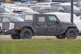 2019 jeep wrangler pickup truck upcoming wrangler pickup may be a convertible autoguide com news