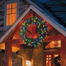 outdoor christmas garland with lights outdoor christmas wreath ebay