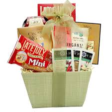 non food gift baskets broadway basketeers organic and healthy gift