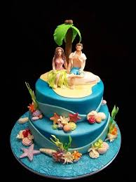 hawaiian wedding cakes simple ideas with perfect result