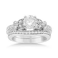 butterfly engagement ring butterfly engagement ring and wedding band bridal set