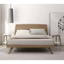 solid wood platform bed frame king making simple platform bed