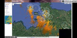 Lightning Maps Recap M5 Closure After Lorry Crash Somerset Breaking News