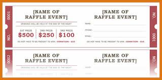 avery tickets template raffle ticket template word letter format business