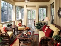 Screened In Porch Decor Designing Outdoor Spaces Hgtv