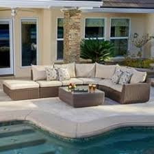 Costco Furniture Outdoor by Malaga 9 Piece Modular Seating Set Constructed With Durable All