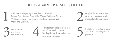 Pottery Barn Kids Promotion Code To The Trade Pottery Barn Kids