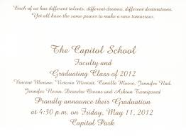 invitation for graduation ceremony cloveranddot