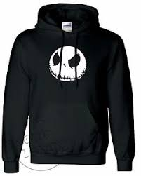 skellington nightmare before unisex pullover hoodie