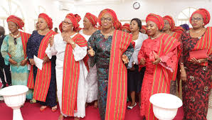 of lagos gov mrs bolanle cowlso officials attend