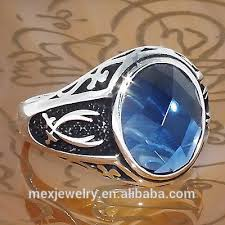 silver ring for men islam men s stainless steel ali ring black silver pt islamic gift
