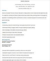 lead teacher resume lukex co
