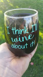 cute wine glass designed by hunting home decor hunting home