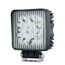 led work lights for trucks imars im l1 27w 9led led work light square flood spot beam for 4x4