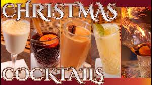 christmas cocktails youtube