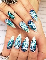 blue nail art designs u0026 ideas for every occasion fashionspick com