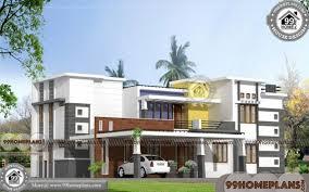 modern two story house plans kerala house design 1000 modern two story fusion style home plans