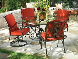 Old Metal Outdoor Furniture by Patio Retro Metal Patio Furniture Sets Cast Iron Patio Furniture