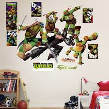 ninja turtle room decor wall sticker nursery and children ninja image of ninja turtle room decor teenager