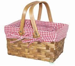 Best Picnic Basket Kcasa Large Folding Picnic Tote Basket Bag Portable Insulated