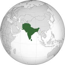 South Asia Political Map by South Asia Wikipedia