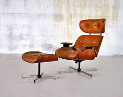 Small Leather Chair And Ottoman Select Modern Eames Leather Lounge Chair U0026 Ottoman