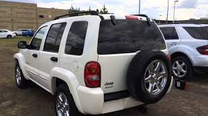 lexus white jeep pre owned white 2003 jeep liberty limited 4wd indepth review