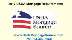 2017 usda mortgage requirements youtube