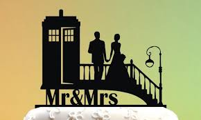 dr who cake topper wedding cake topper cake topper tardis doctor who wedding