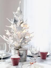 xmas tree on table small festive christmas trees ideas for christmas decorating