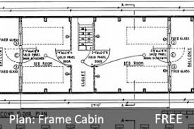 free a frame cabin plans the 57 best cabin plans with detailed log cabin hub