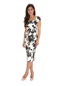 black dress company cara black pencil dress the pretty dress company