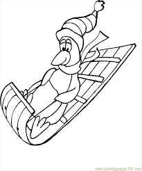 sled coloring pages 100 images sled clip drawing