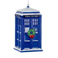 doctor who glass tardis tree ornament retrofestive ca