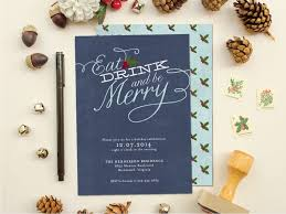 2014 holiday collection party invitations banter and charm