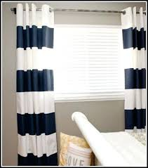 White And Navy Striped Curtains Navy Striped Curtains Icedteafairy Club
