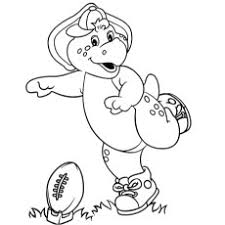 barney friends coloring pages coloring pages ideas