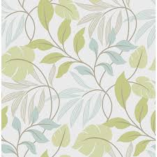 shop wallpops peel and stick green vinyl floral wallpaper at lowes com