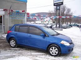 nissan versa blue 2007 sapphire blue metallic nissan versa sl 24588172 gtcarlot