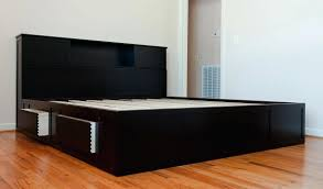 solid wood platform bed frame queen captains bed how to find