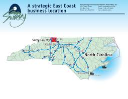Wilmington Nc Map Surry County Nc Maps And Downloads To Find Your Way Around Our