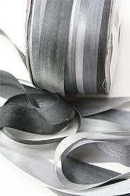 white silk ribbon silk ribbon for knitting silver anniversary black and white