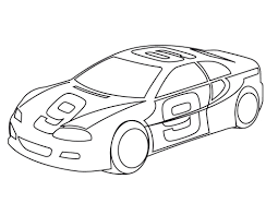 free car coloring pages coloring page