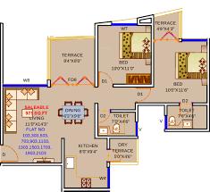 975 sq ft 2 bhk floor plan image twin star infrastructure royal twin star infrastructure royal mansion 2bhk 2t 975 sq ft 975 sq